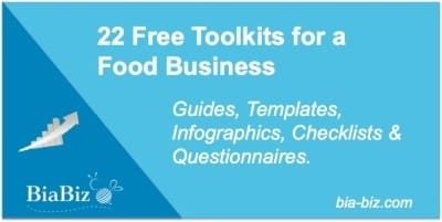 Food Business Free Toolkits