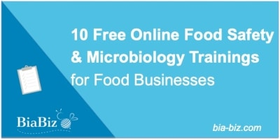 Free online food safety & microbiology trainings