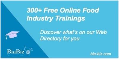 Free Online Food Trainings