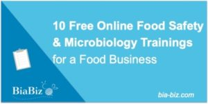 Free online food safety and mico trainings