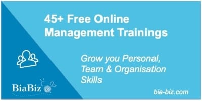 Free online management training