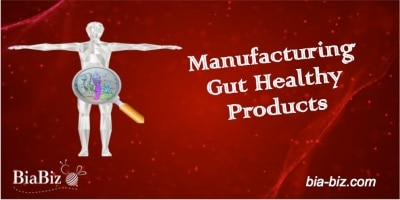 manufacturing gut healthy products