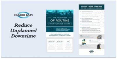 Reduce unplanned downtime infographic