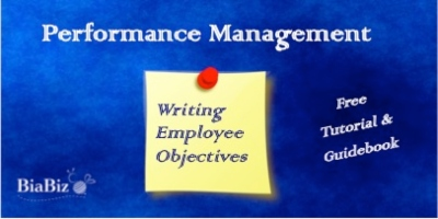 Writing Employee Objectives