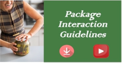 package interaction food industry