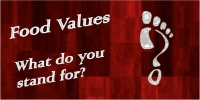 food values what do you stand for