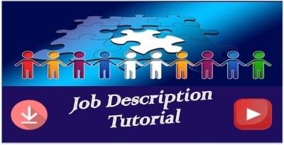job description tutorial