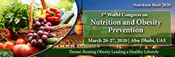 3rd World Congress on Nutrition and Obesity Prevention
