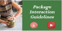 package interaction guidelines